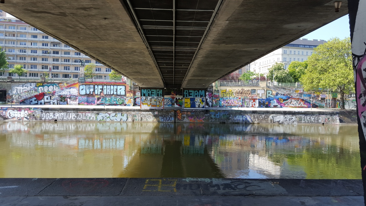 Graffiti at Donaukanal